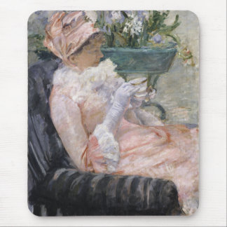 The Cup of Tea by Mary Cassatt Mouse Pad