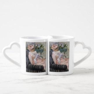 The Cup of Tea by Mary Cassatt Lovers Mug Sets