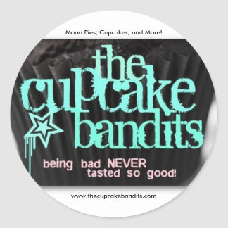 The Cupcake Bandits Classic Round Sticker