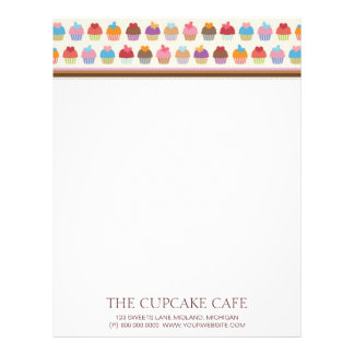 The Cupcake Cafe Letterhead