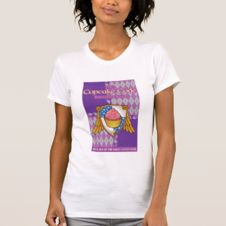 THE CUPCAKE CODE book cover - T T-Shirt