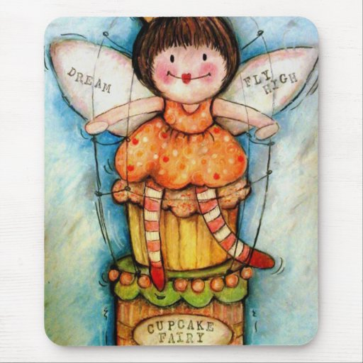 The Cupcake Fairy Mouse Pad