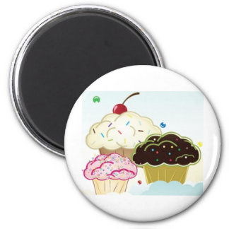 The Cupcake House Magnet