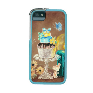 The Cupcake, the Candle, and the Mouse iPhone 5/5S Covers