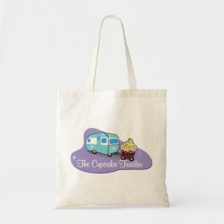 The Cupcake Trailer Tote Budget Tote Bag