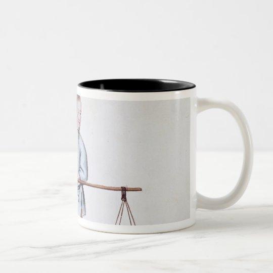 The Curd Seller Two-Tone Coffee Mug