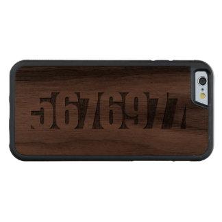 The Cure - 5676977 - 1997 Carved® Walnut iPhone 6 Bumper Case