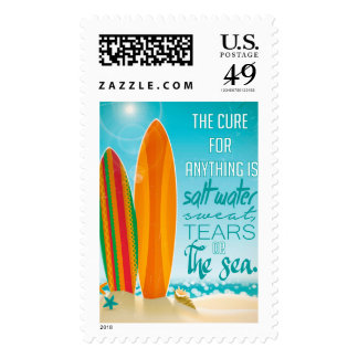The Cure for Anything is Salt Water Postage