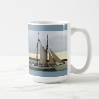 The cure for anything is saltwater sweat tears coffee mug