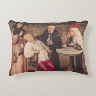 The Cure of Folly Accent Pillow