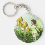 The Curious Fairy - Fairy and Toadstools Key Chains