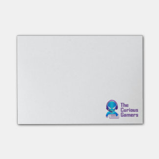 The Curious Gamers Sticky Notes