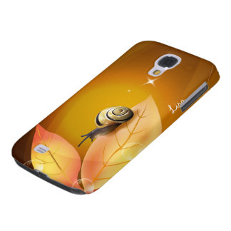 The Curious Snail Samsung Galaxy S4 Cover