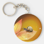 The Curious Snail Keychains