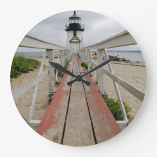 The current lighthouse, the last of many large clock