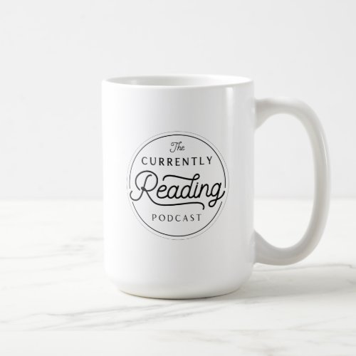 The Currently Reading Logo Mug