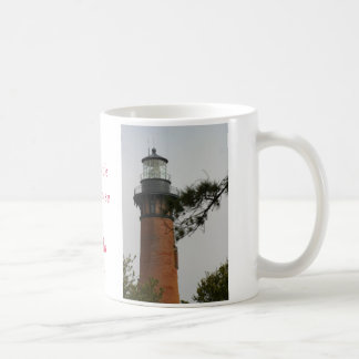 The Currituck Lighthouse at Corrola Beach Classic White Coffee Mug