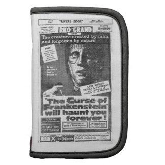 The Curse of Frankenstein 1957 Ad Binder Folio Planner