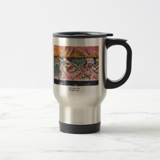 The Curtain Falls By Edgar Degas 15 Oz Stainless Steel Travel Mug