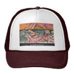The Curtain Falls By Edgar Degas Trucker Hat