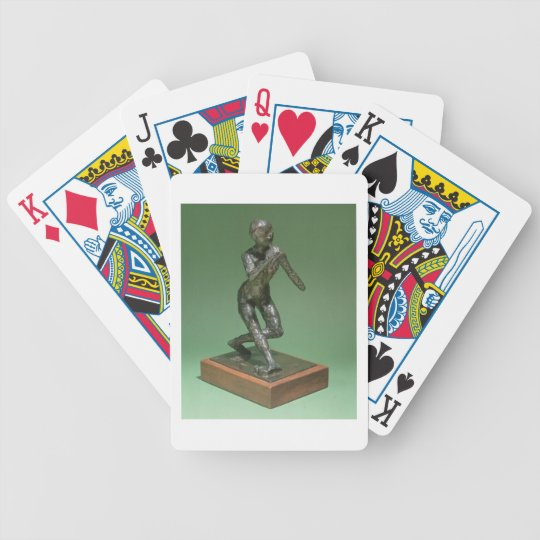 The Curtsey, c.1896 (bronze) Bicycle Playing Cards