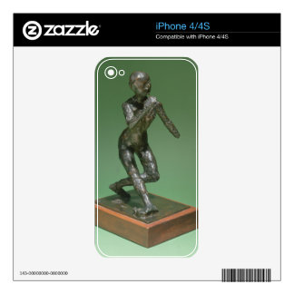 The Curtsey, c.1896 (bronze) iPhone 4 Skin