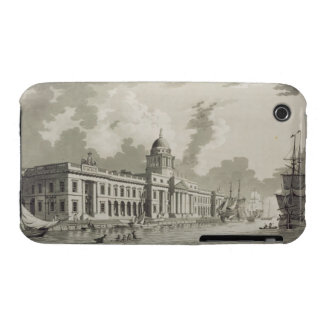 The Custom House, Dublin, 1792 (engraving) iPhone 3 Cases