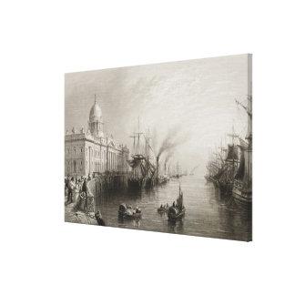 The Custom House, Dublin Canvas Print