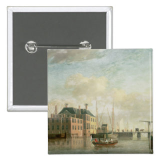 The Customs House, Amsterdam Pinback Buttons