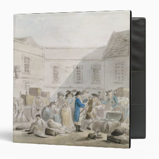 The Customs House at Boulogne (w/c with pen and gr Binder