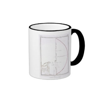 The Cut of a Toga for 'Britannicus' by Jean Racine Ringer Mug