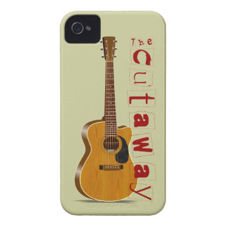 The Cutaway Acoustic Guitar iPhone 4 Case