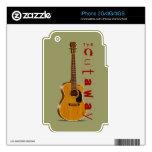 The Cutaway Acoustic Guitar iPhone 3 Skins