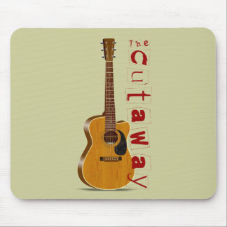 The Cutaway Acoustic Guitar Mouse Pad