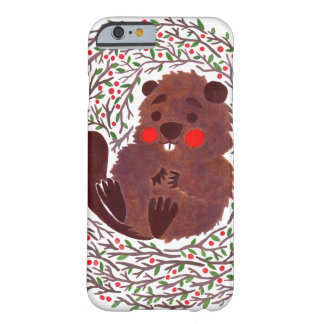 The Cute Baby Beaver Barely There iPhone 6 Case