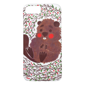 The Cute Baby Beaver iPhone 7 Case