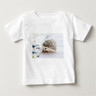 The Cute Baby Hedgehog Baby T-Shirt