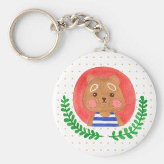 The Cute Bear Keychain