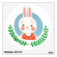 The Cute Bunny Nursery Wall Art Wall Decal