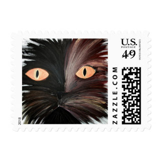 the cute cat postage