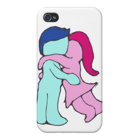 The cute couple covers for iPhone 4