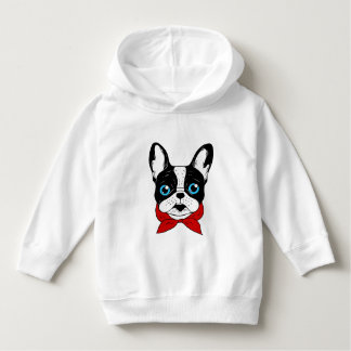 The cute Frenchie scout is ready for his adventure Hoodie