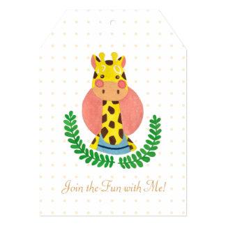 The Cute Giraffe Card