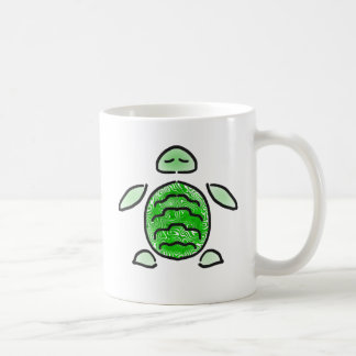 The Cute Green Sea Turtle Coffee Mug