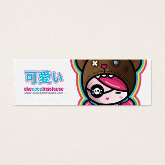 the cute institute card