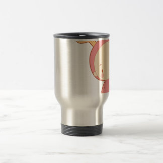 The Cute Moose 15 Oz Stainless Steel Travel Mug