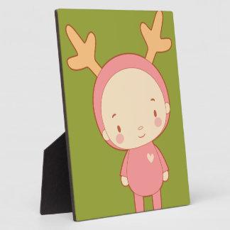 The Cute Moose Plaque