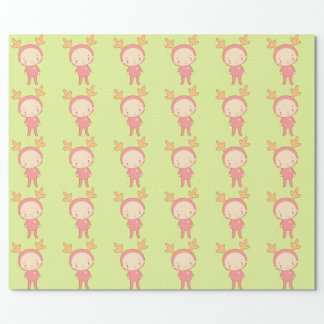 The Cute Moose Wrapping Paper
