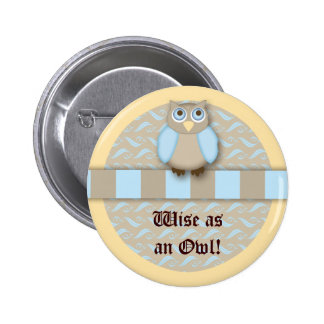 The Cute 'N Wise Old Owl Pin