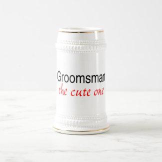 The Cute One (Groomsman) Beer Stein